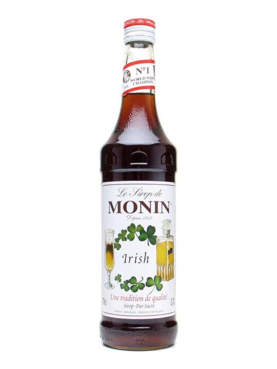 Monin Irish Coffee Syrup The Whisky Exchange