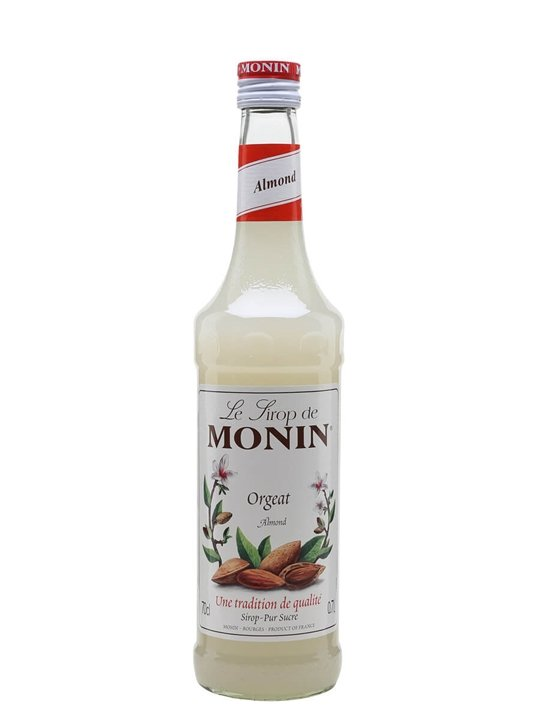monin orgeat  almond  syrup   the whisky exchange