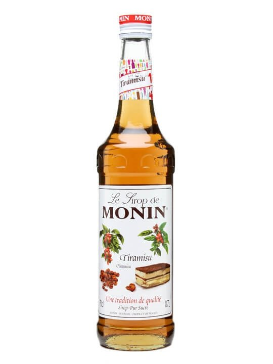 monin tiramisu syrup   the whisky exchange