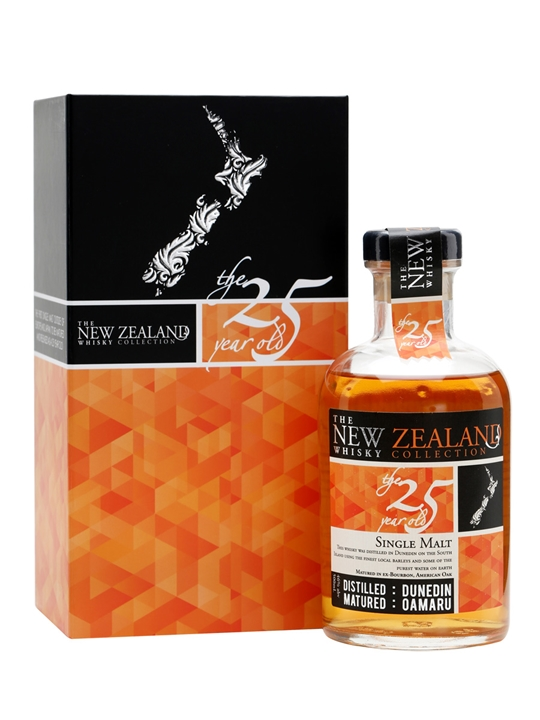 New Zealand 25 Year Old Bot 2014 The Whisky Exchange
