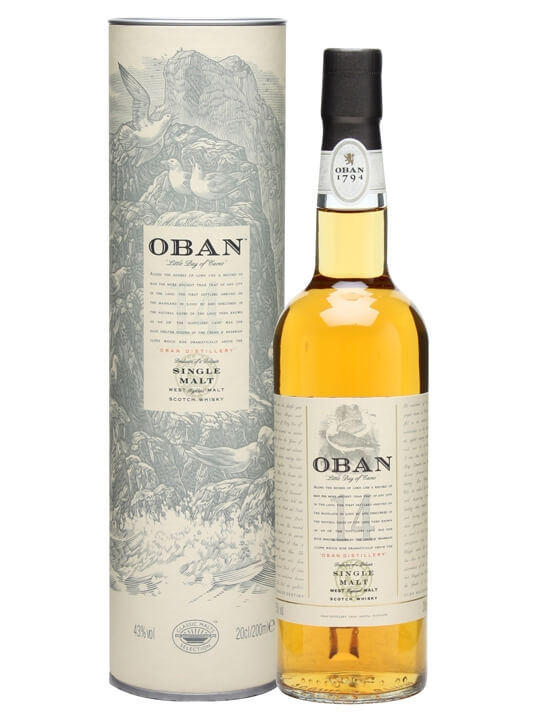 Oban 14 Year Old / Small Bottle