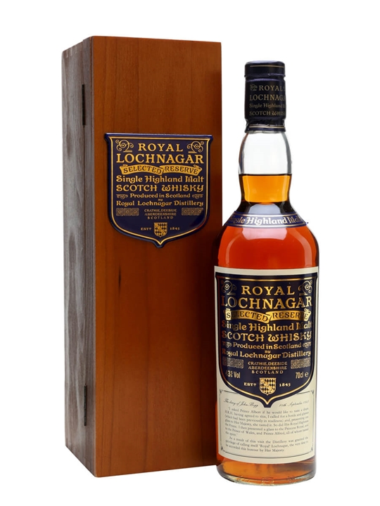 Royal Lochnagar Selected Reserve Scotch Whisky The