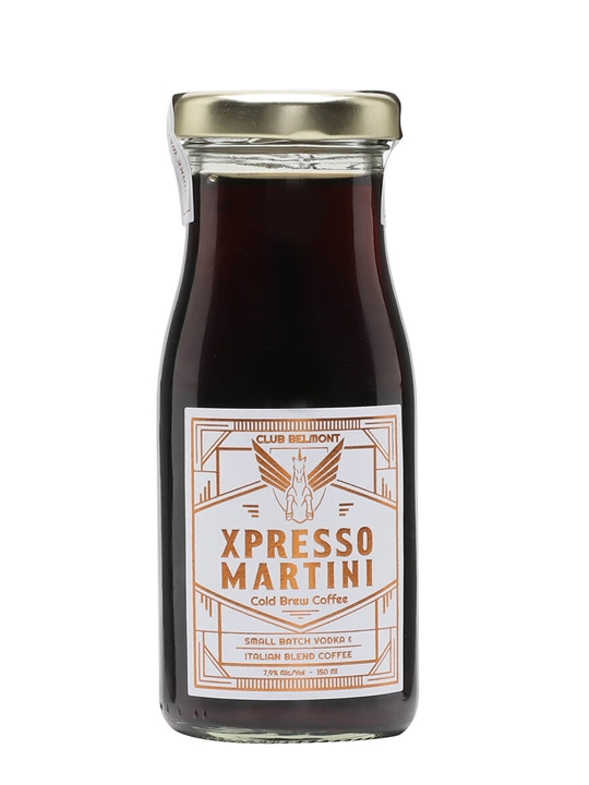 Club Belmont Xpresso Martini Cold Brew Coffee /Single Bottle