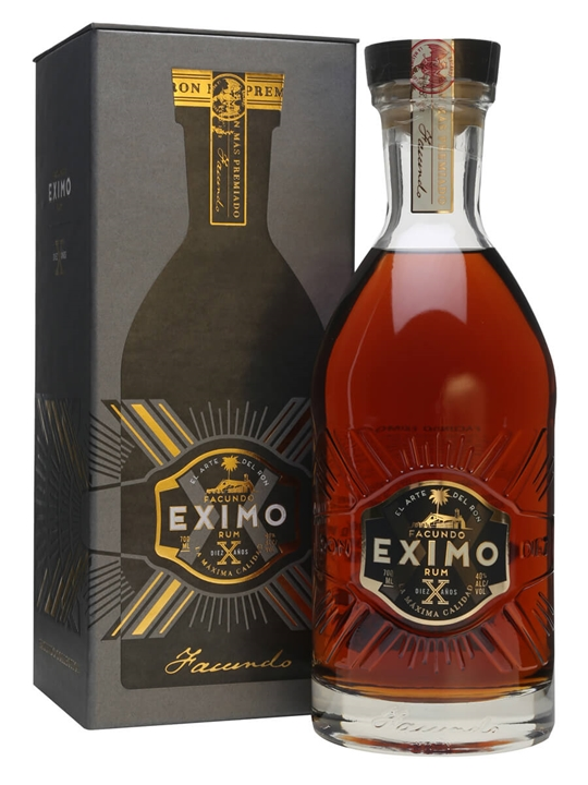 Bacardi Facundo Eximo Rum 10 Year Old The Whisky Exchange