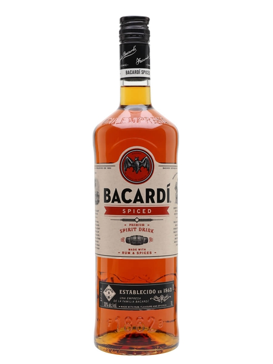 Bacardi Spiced / Litre