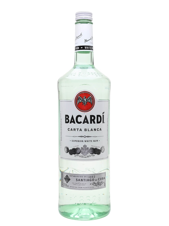Bacardi Superior Carta Blanca Rum The Whisky Exchange