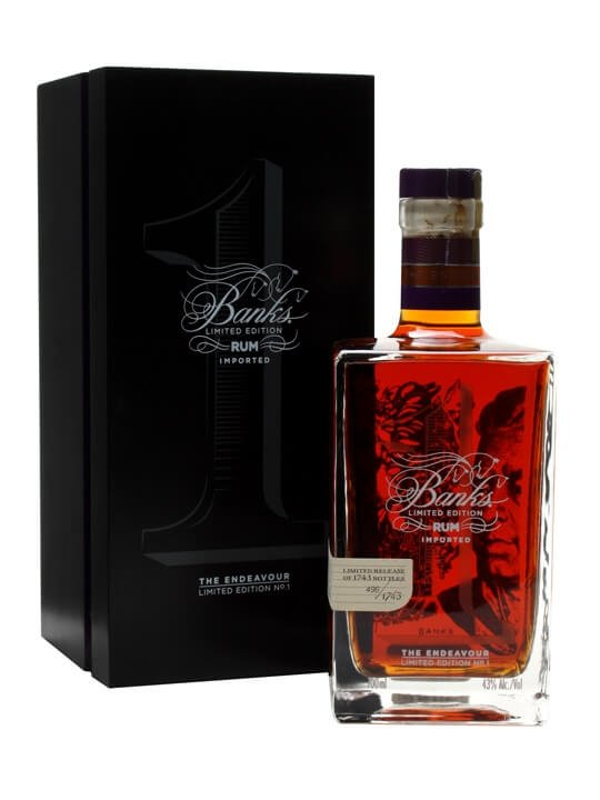 Banks The Endeavor Rum Limited Edition No 1 The Whisky