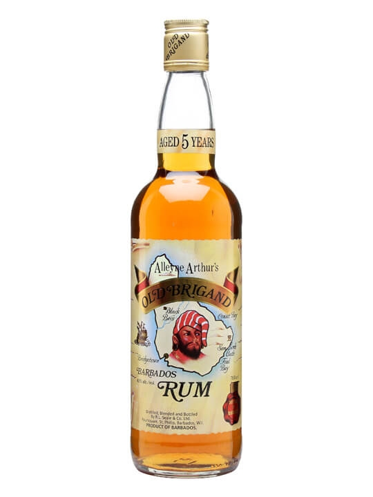 old brigand 5 year old rum   barbados the whisky exchange