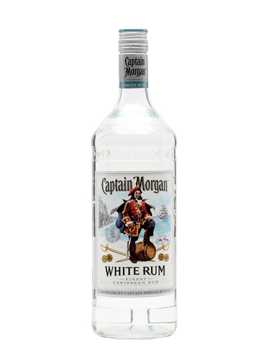 Captain Morgan White Rum - Litre : The Whisky Exchange