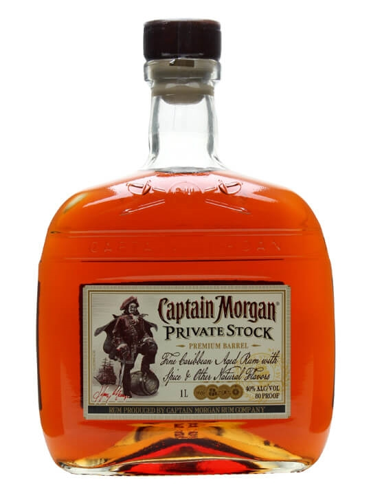 Captain Morgan Private Stock Rum Litre The Whisky Exchange