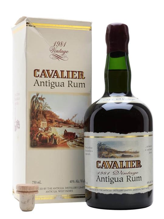 Cavalier 1981 Antigua Rum Buy From World S Best Drinks Shop