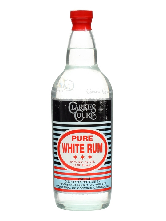 Clarke S Court Pure White Rum The Whisky Exchange