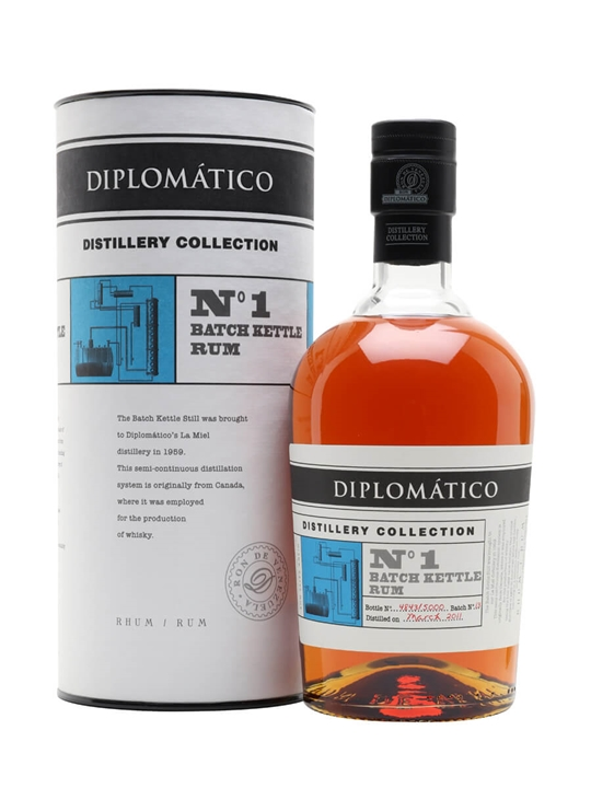 Diplomatico Batch Kettle Rum / Distillery Collection No.1