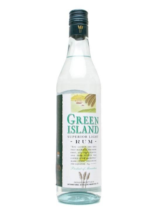 Green Island Superior Light Rum : The Whisky Exchange
