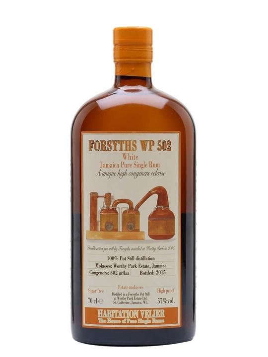 Forsyths WP 502 White Rum / Habitation Velier / Bot.2015