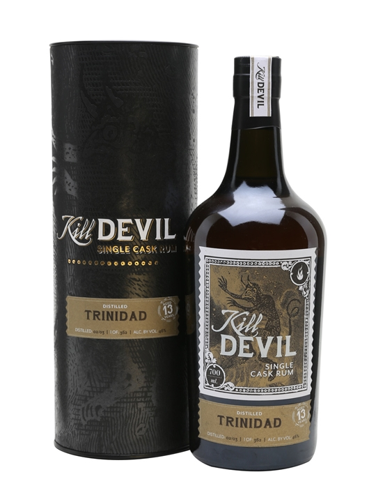 Trinidad 2003 - 13 Year Old - Kill Devil : The Whisky Exchange