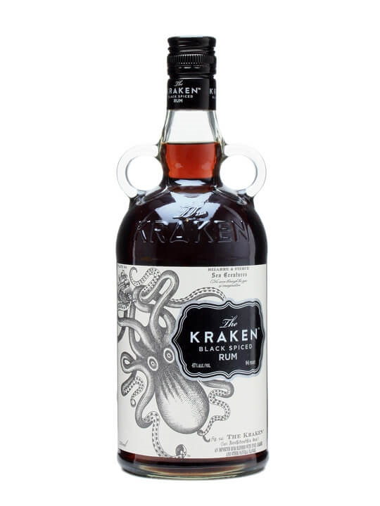 Kraken black spiced rum 39 47 39 the whisky exchange - Kraken rum pictures ...