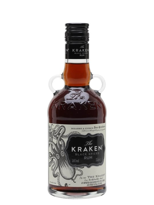 Kraken Black Spiced Rum / Half Bottle