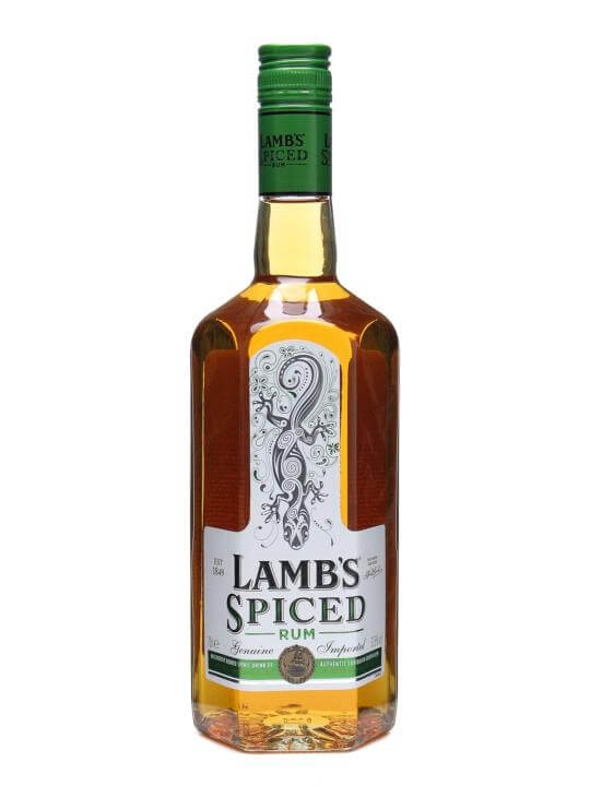 Lamb's Spiced Rum : The Whisky Exchange