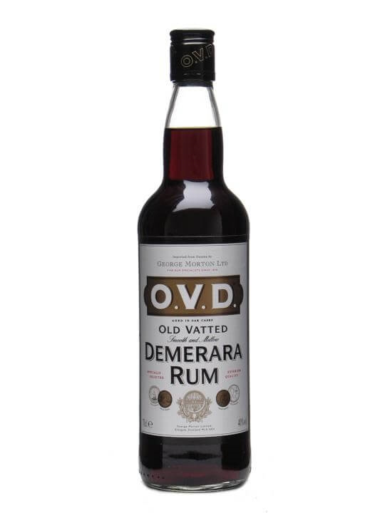 O V D Old Vatted Demerara Rum Buy From World S Best