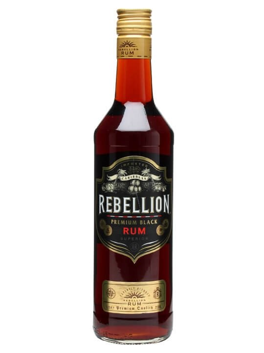 Rebellion Premium Black Rum Buy From World S Best Drinks