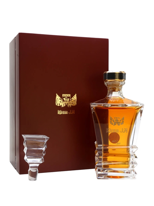 rhum jm cuvee prestige carafe cristal the whisky exchange. Black Bedroom Furniture Sets. Home Design Ideas