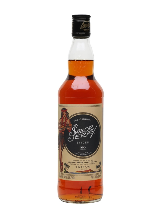 Sailor Jerry Spiced Rum : The Whisky Exchange