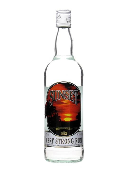 Sunset Very Strong Rum The Whisky Exchange