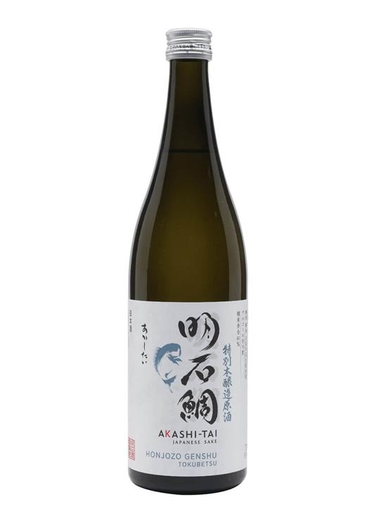 Akashi-Tai Honjozo Genshu Tokubetsu Goyakumangoku