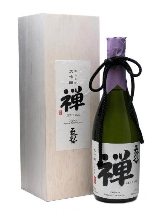 Zen Sake Daiginjo The Whisky Exchange