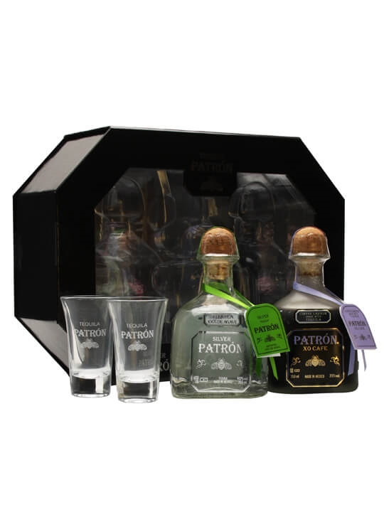 Patron Wake Up Call Set - Silver & XO Cafe - 2x35cl : The Whisky ...