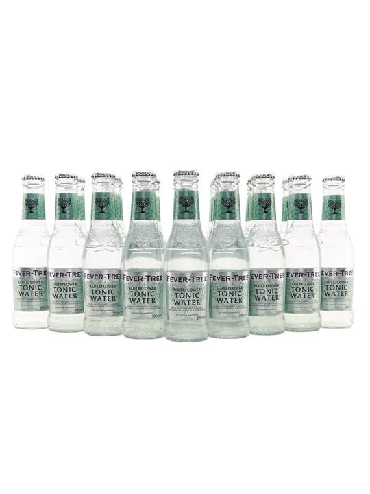 Fever-Tree Elderflower Tonic Water / Case of 24 Bottles