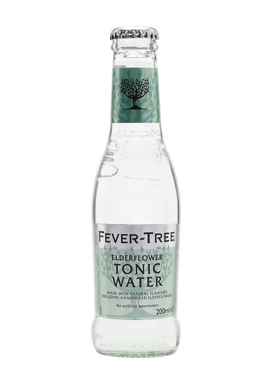Fever-Tree Elderflower Tonic Water / Single Bottle