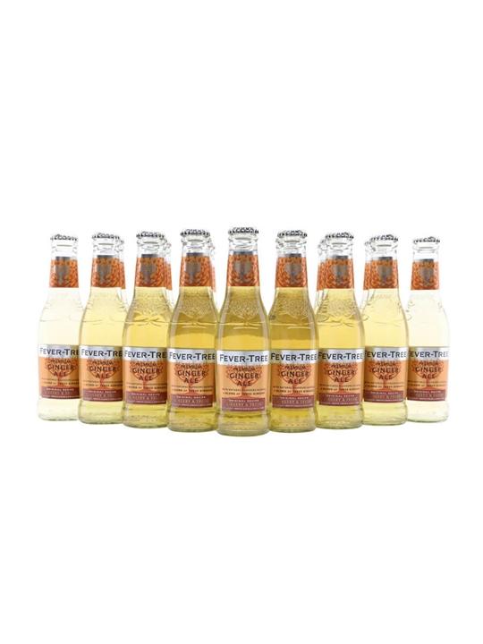 Fever-Tree Ginger Ale / Case of 24 Bottles