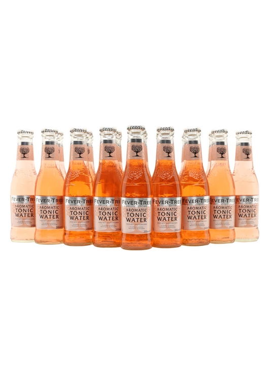 Fever-Tree Aromatic Tonic Water / Case of 24 Bottles