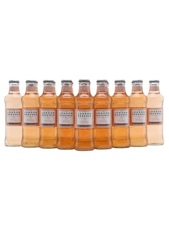 London Essence White Peach & Jasmine Soda/Case of 24 Bottles