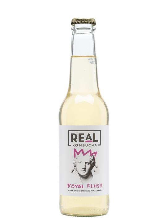 Real Kombucha Royal Flush / Single Bottle