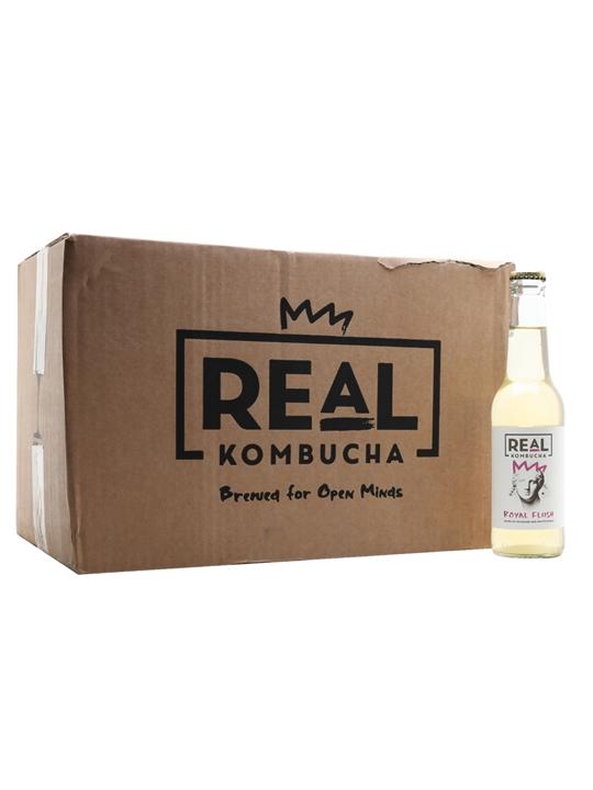 Real Kombucha Royal Flush / Case of 24 Bottles