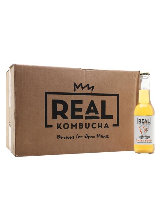 Real Kombucha Smoke House / Case of 24 Bottles