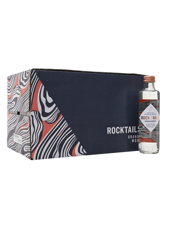 Rocktails Orangewood Blend / Case of 24 Bottles