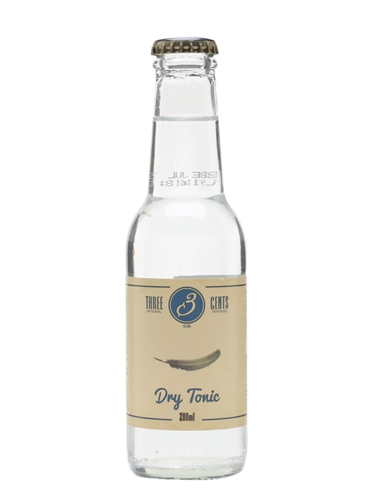 Three Cents Dry Tonic Water / Single Bottle