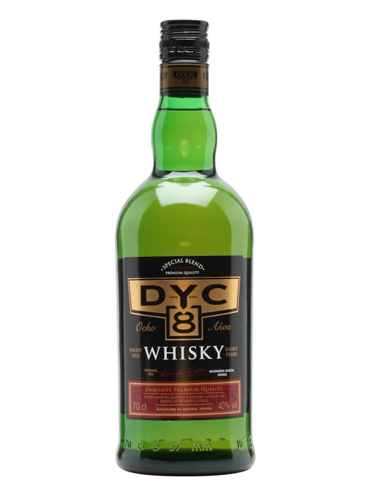 Dyc 8 Year Old Spanish Whisky The Whisky Exchange