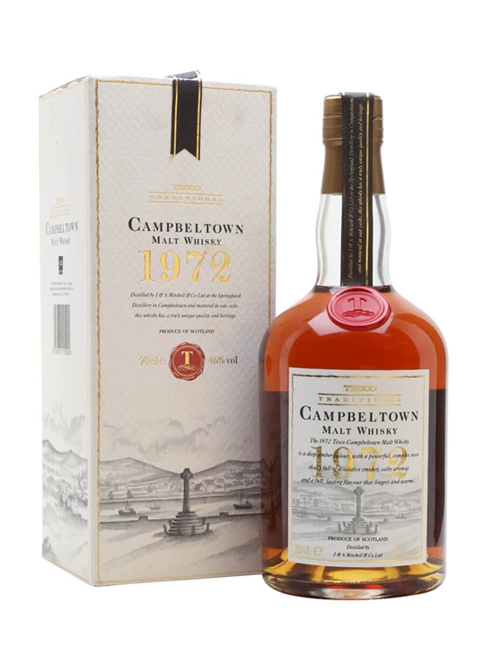 Campbeltown 1972 Bottle For Tesco Scotch Whisky The