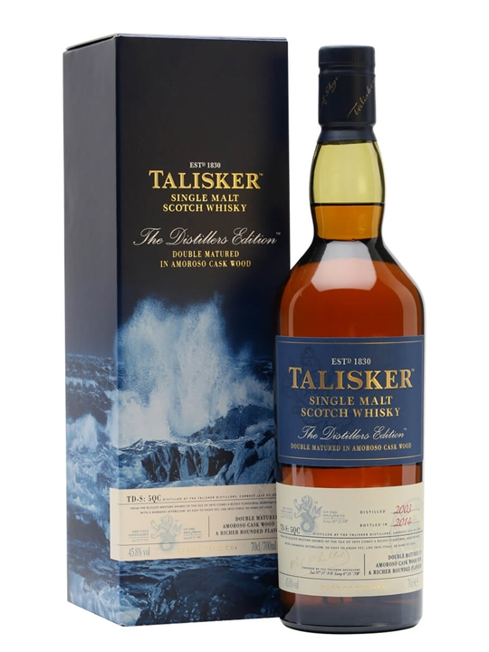 Talisker 2003 / Distillers Edition