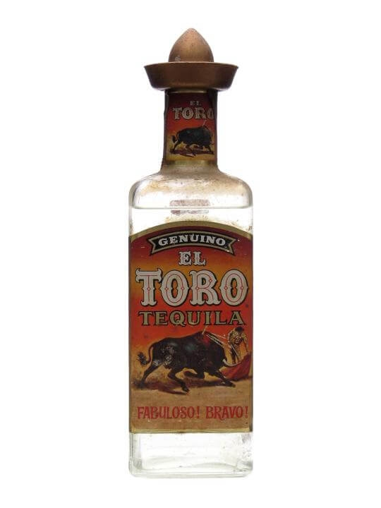 El Toro Tequila Bot 1960s The Whisky Exchange