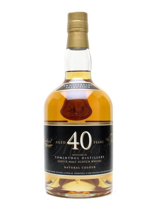 Tomintoul 40 Year Old Scotch Whisky The Whisky Exchange