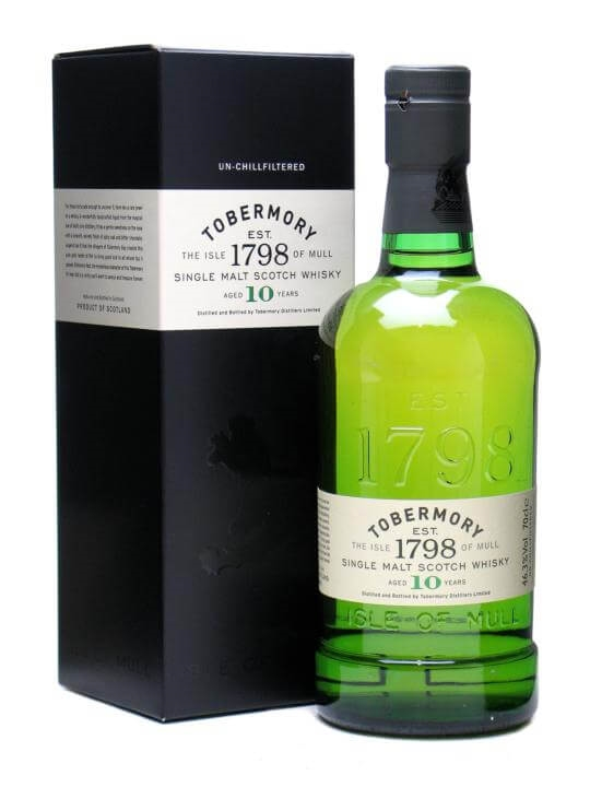 Tobermory 10 Year Old Scotch Whisky The Whisky Exchange