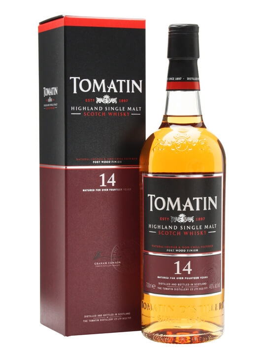 Tomatin 14 Year Old Port Wood Finish Scotch Whisky The