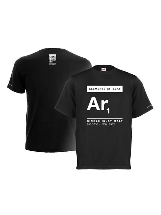 Ar1 Elements Of Islay T Shirt Black The Whisky Exchange