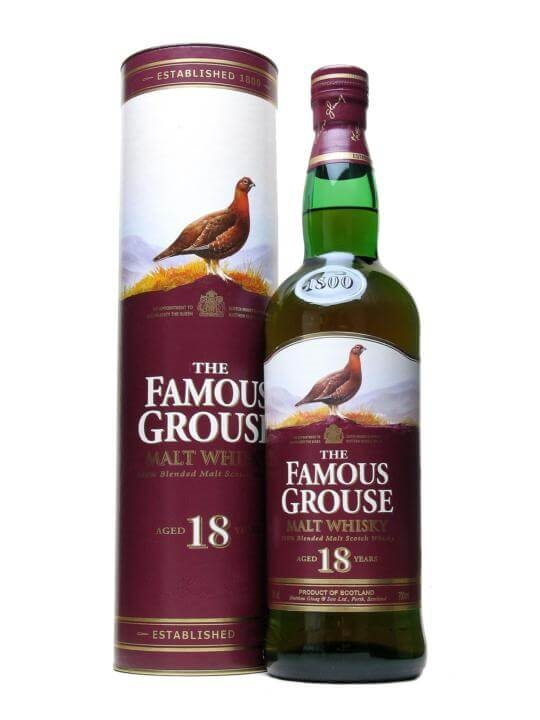 Famous Grouse 18 Year Old The Whisky Exchange
